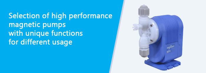 High performance Magnetic pump